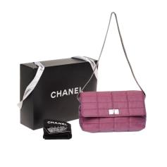Sac à main en tissu Chanel 2.55 pas cher
