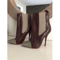High Heel Ankle Boots Christian Louboutin