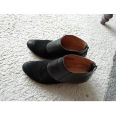 Bottines & low boots à talons Kickers  pas cher