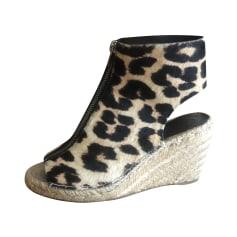Wedge Sandals Céline