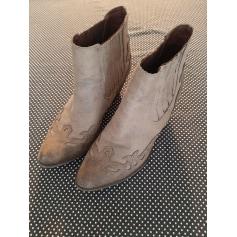 Santiags, bottines, low boots cowboy Cassis  pas cher