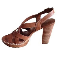 Sandales à talons Tommy Hilfiger  pas cher