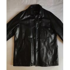 Manteau en cuir Strellson  pas cher