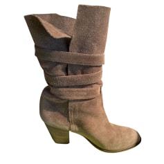 Bottines & low boots à talons Colisee de Sacha  pas cher