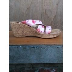 Sandales compensées Street Shoes  pas cher