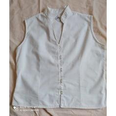 Top, tee-shirt Blanc du Nil  pas cher