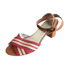 Sandales à talons Inès de la Fressange  pas cher