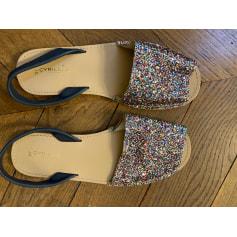 Sandales plates  Cyrillus  pas cher