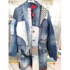 Manteau en jean Desigual  pas cher