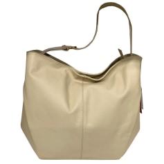 Leather Oversize Bag Pierre Cardin