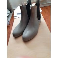 Bottines & low boots plates Moa  pas cher