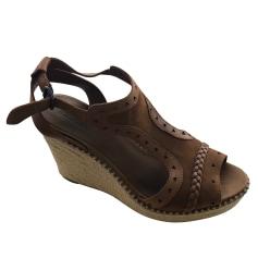 Sandales compensées Tommy Hilfiger  pas cher