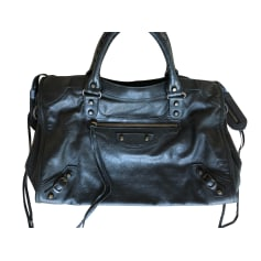 Leather Shoulder Bag Balenciaga City