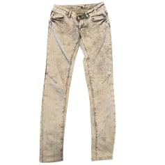 Jeans slim Maje  pas cher