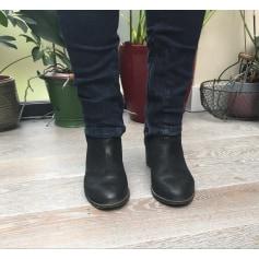 Bottines & low boots à talons Eden  pas cher