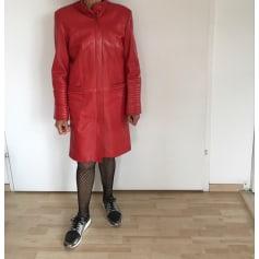 Manteau en cuir Kenzo  pas cher