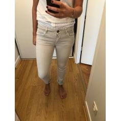 Pantalon droit N.V.Y  pas cher