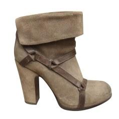 Bottines & low boots à talons Sartore  pas cher