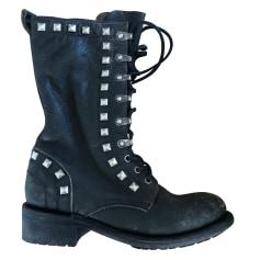 Biker-Boots Ash