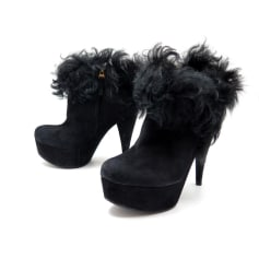 High Heel Ankle Boots Fendi
