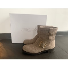 Bottines & low boots plates Jimmy Choo  pas cher