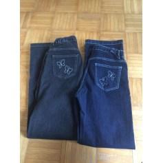 Jeans droit Afibel  pas cher