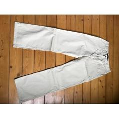Pantalon droit Serge Blanco  pas cher