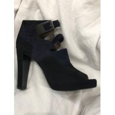 Bottines & low boots à compensés Hermès  pas cher