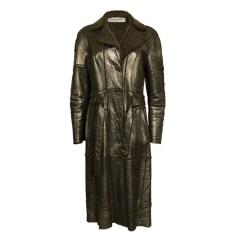 Manteau en cuir Dior  pas cher