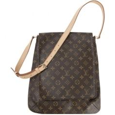 Sac en bandoulière en cuir Louis Vuitton  pas cher