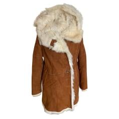 Manteau en cuir Cotélac  pas cher