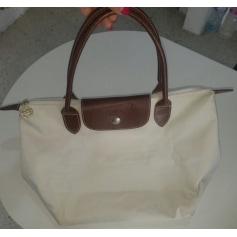 Sac à main en tissu Longchamp Mademoiselle Longchamp pas cher