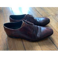 Chaussures à lacets Rochas  pas cher