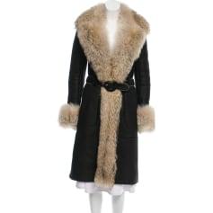Manteau en fourrure Barbara Bui  pas cher
