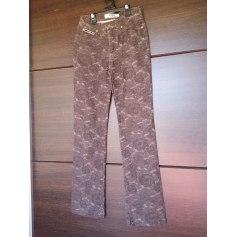 Pantalon droit Krizia  pas cher