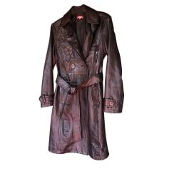 Manteau en cuir Chacok  pas cher