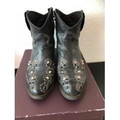 Santiags, bottines, low boots cowboy Lola Espeleta  pas cher