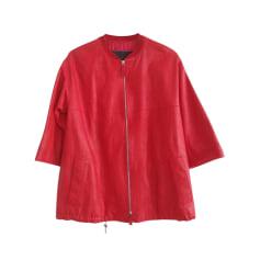 Veste en cuir Longchamp  pas cher