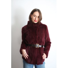 Manteau en fourrure Claudie Pierlot  pas cher