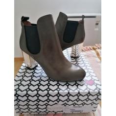 Bottines & low boots à talons sarenza  pas cher