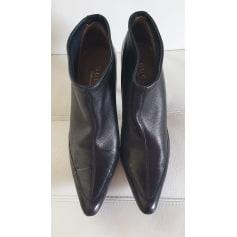 Bottines & low boots à talons Gucci Ace pas cher
