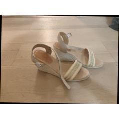 Sandales compensées Etam  pas cher