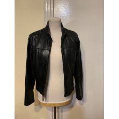 Leather Zipped Jacket Côté Femme