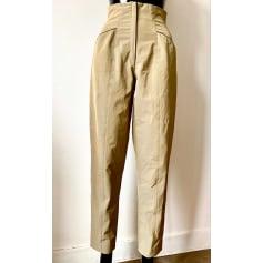 Pantalon droit Vintage  pas cher