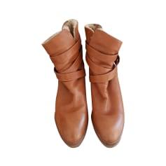 Bottines & low boots à compensés Colisee de Sacha  pas cher