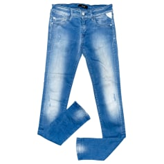 Jeans slim Replay  pas cher