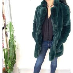 Manteau en fourrure MAISON R&C  pas cher