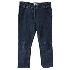 Jeans slim Chanel  pas cher