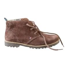 Bottines & low boots plates Tommy Hilfiger  pas cher
