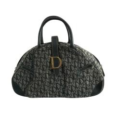 Sac à main en tissu Dior Saddle pas cher